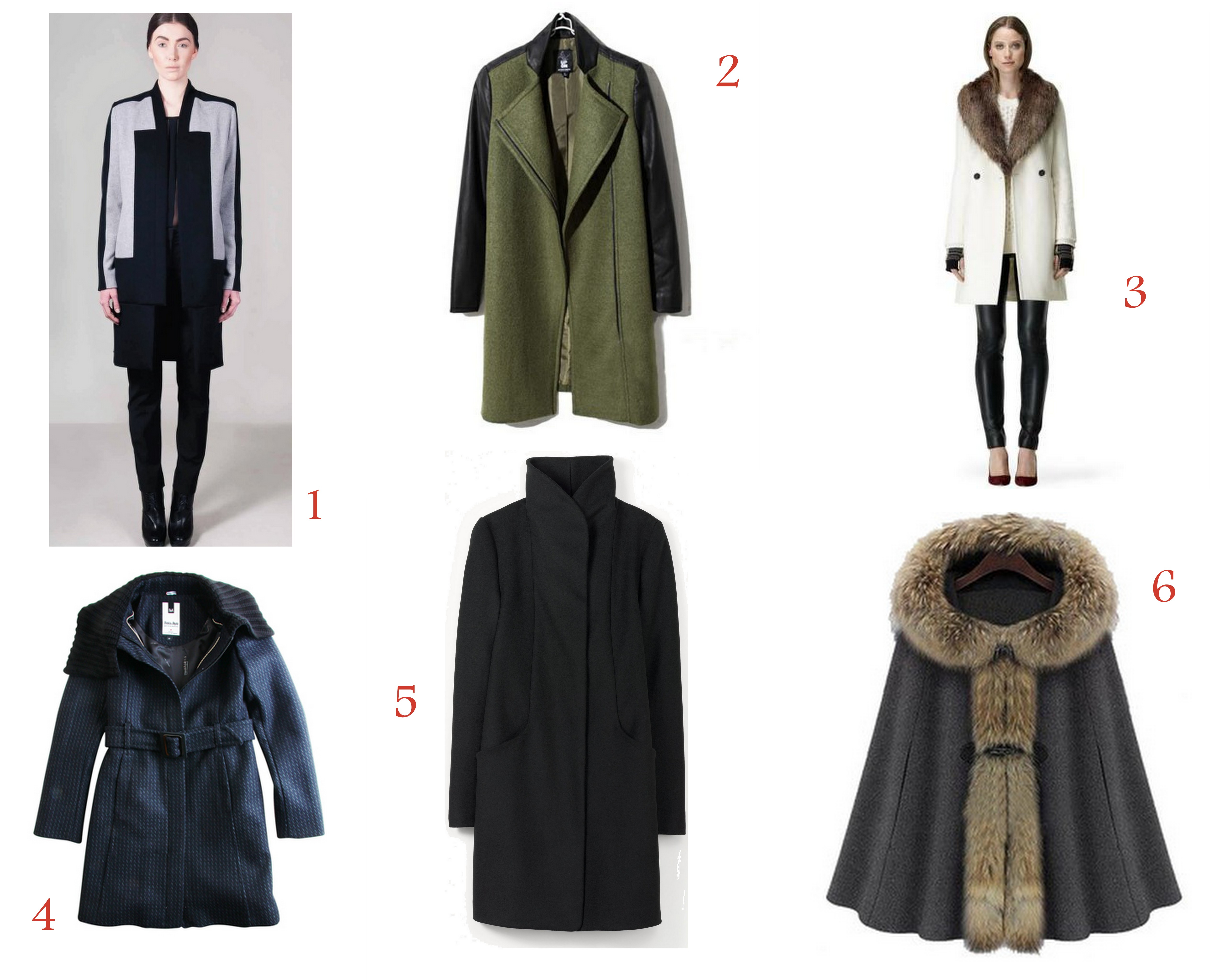 Outerwear Collage